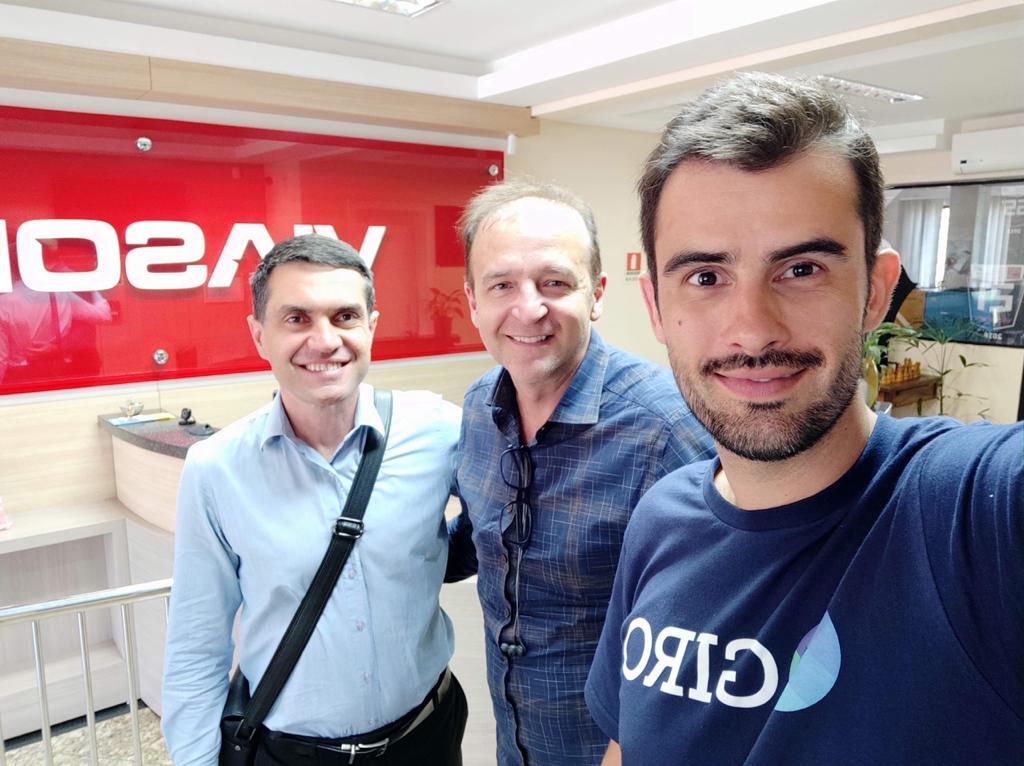 Rocket Startup da RPC gera negócio entre Giro.Tech e Viasoft